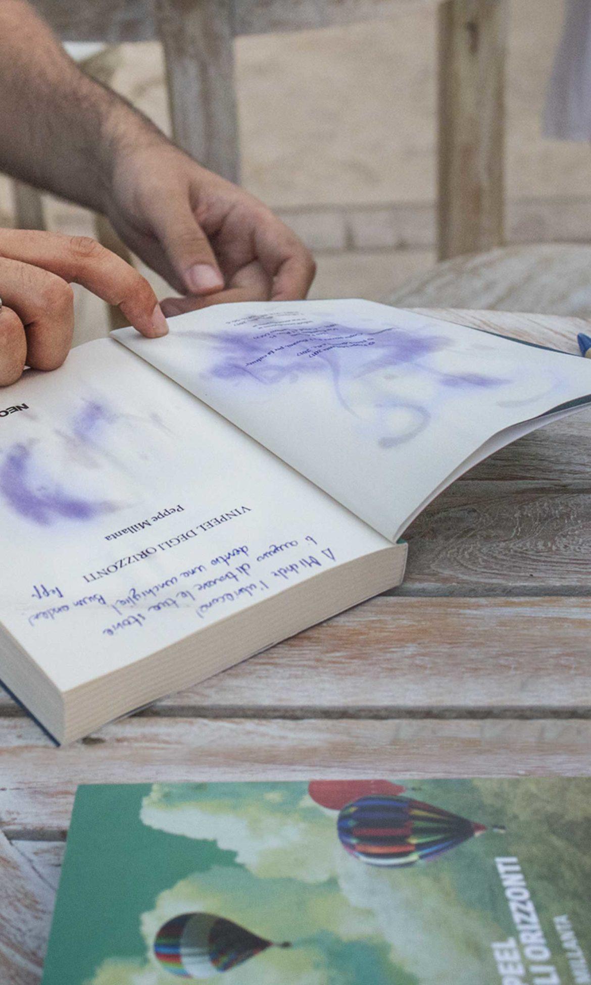"""Peppe Millanta e il suo romanzo """"Vinpeel degli orizzonti"""" il 19 giugno 2018 a Termoli"""