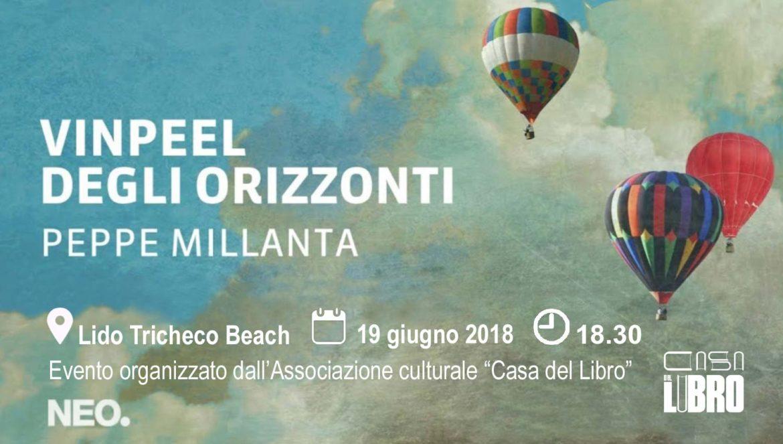 """Termoli: Peppe Millanta presenta il suo primo romanzo """"Vinpeel degli orizzonti"""""""
