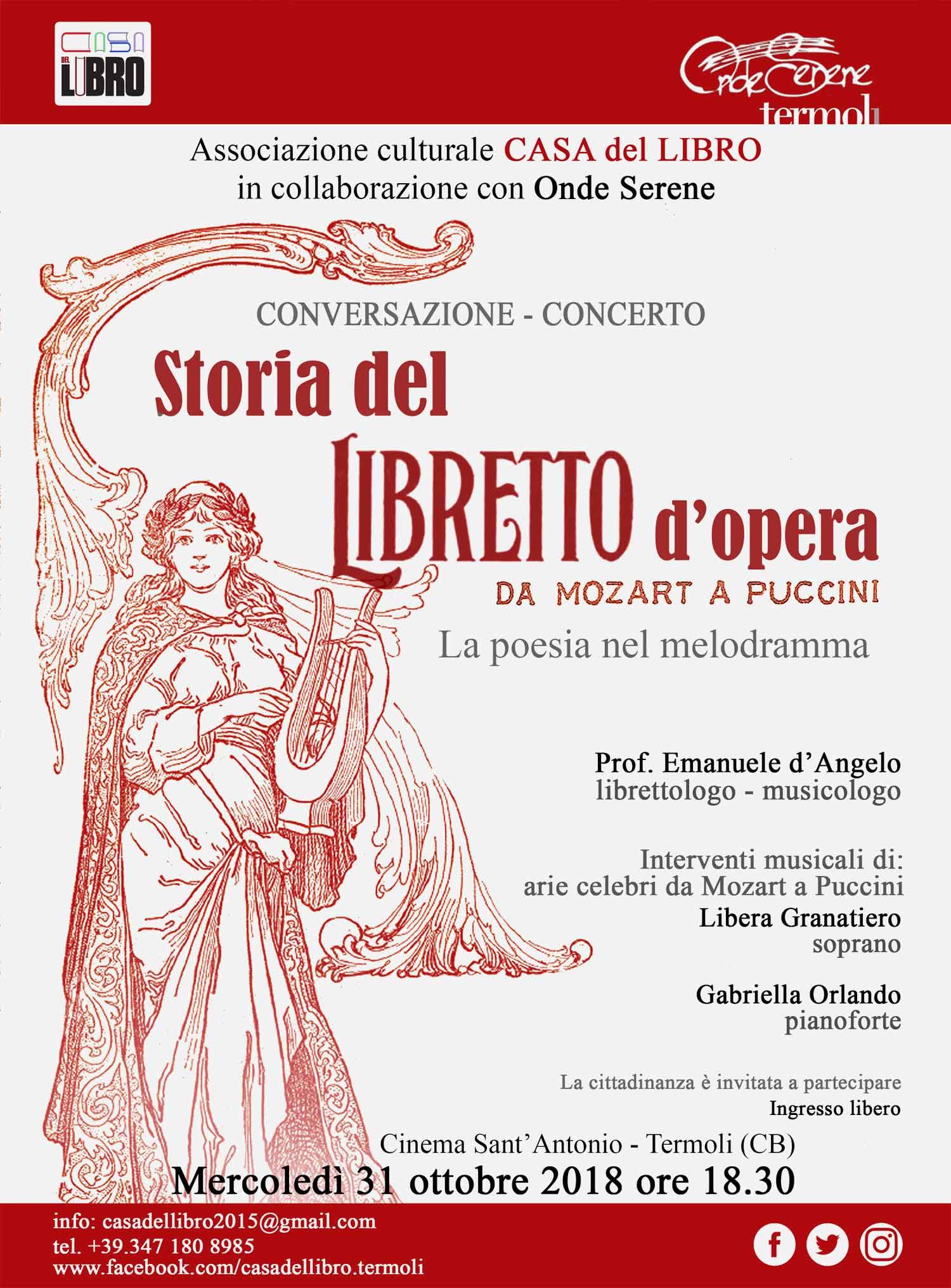 La storia del Libretto d'opera: la poesia nel melodramma